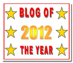 The Blissful Adventurer - Blog of the Year