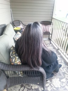 back of hair