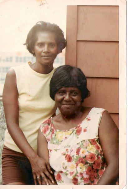 mom and gran