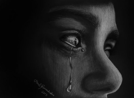 Sadness by ArtOfNightSky on DeviantArt Found on Google