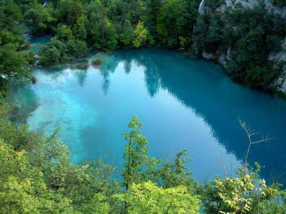 Google Image of Plitvice Lakes National Park